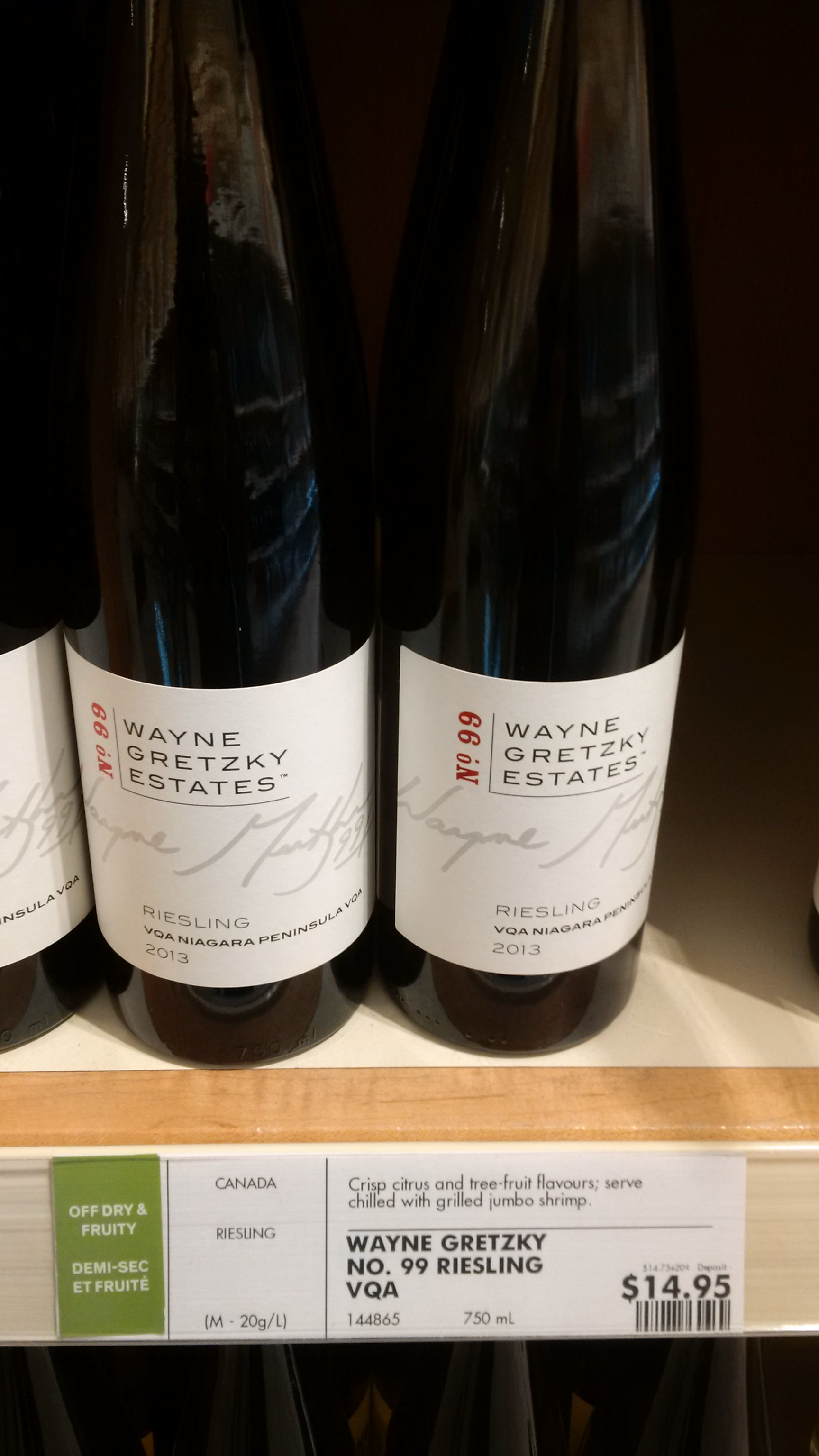 What's up with Wayne Gretzky and beverages?