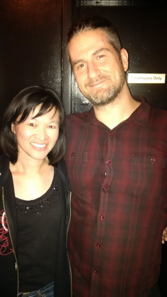 Meeting Matt Nathanson was one of the many highlights of the night.