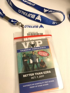 VIP Game Day Experience Pass for Better than Ezra